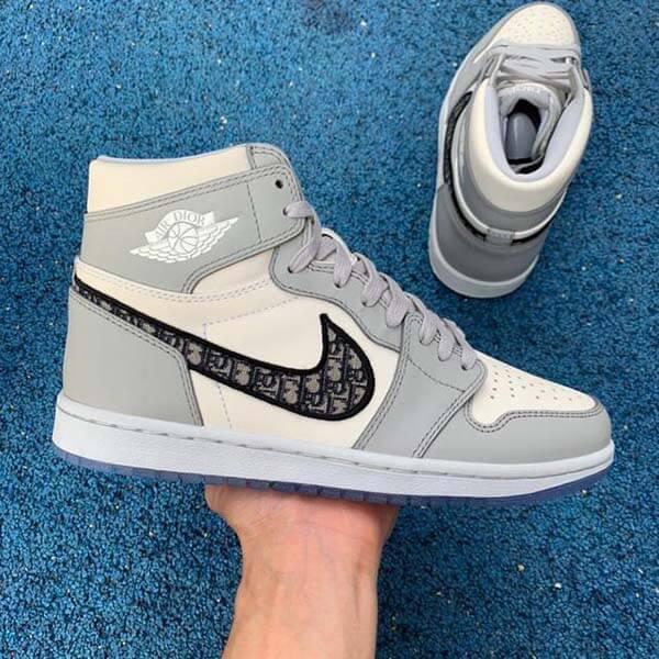 Tổng thể giày Dior x Air Jordan 1 OG