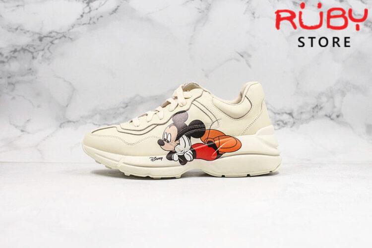 Giày Disney x Gucci Rhyton sneaker