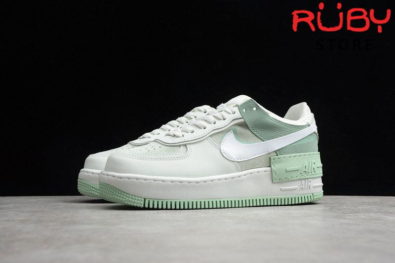 "Giày Air Force 1 ""Shadow"" Spruce Aura Pistachio Frost Xanh"