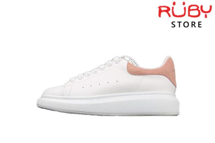 Giày Alexander Mcqueen gót hồng replica 1:1 giá rẻ nhất TP HCM