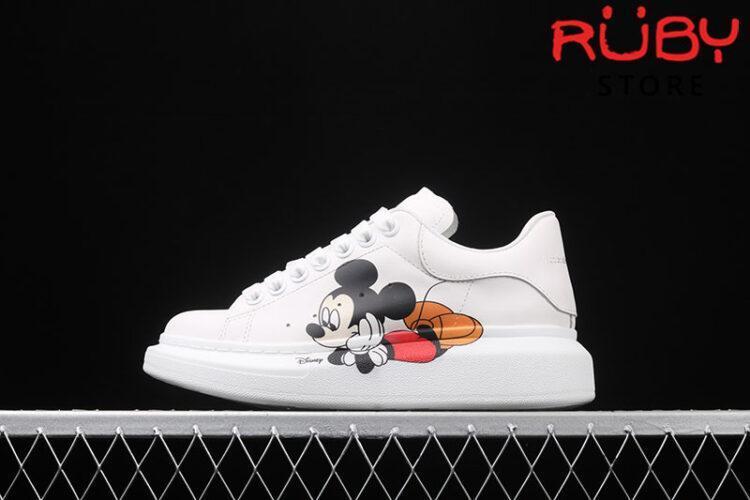 Giày Alexander McQueen chuột Mickey - trái