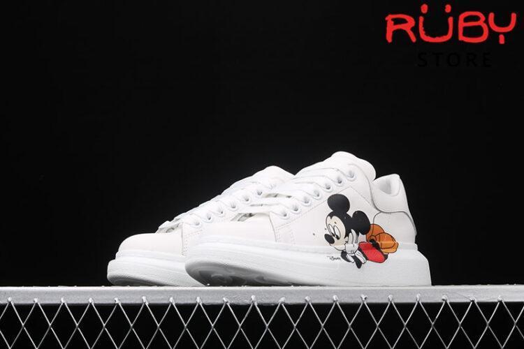 Giày Alexander McQueen chuột Mickey - mũi