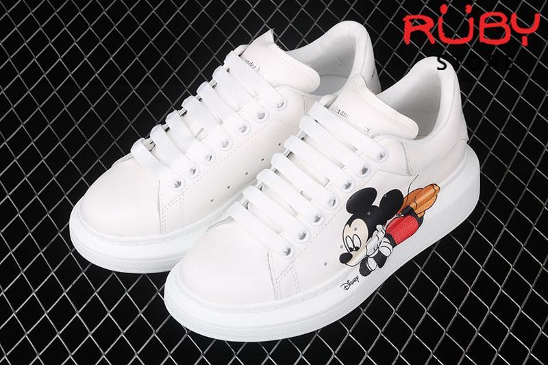 Giày Alexander McQueen chuột Mickey - tổng thể