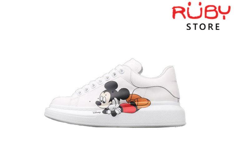 Giày Alexander McQueen chuột Mickey replica 1:1
