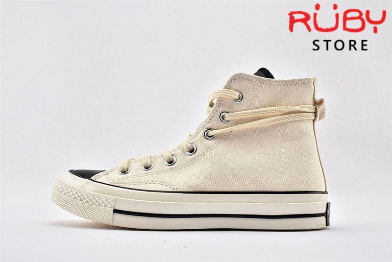 giày Converse x Fear of God Essentials màu trắng góc nhìn phải