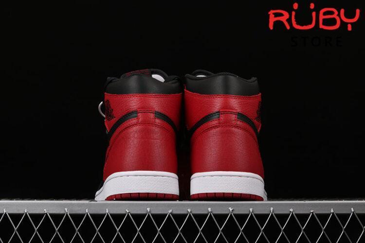 Giày Jordan 1 Retro Bred Đỏ Đen