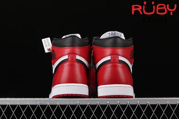 Giày Jordan 1 Retro High Black Toe Trắng Đen