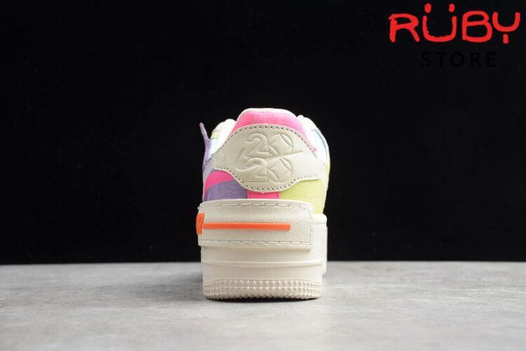 Đôi Giày Nike Air Force 1 Shadow Pale Ivory Pink Hồng Tím