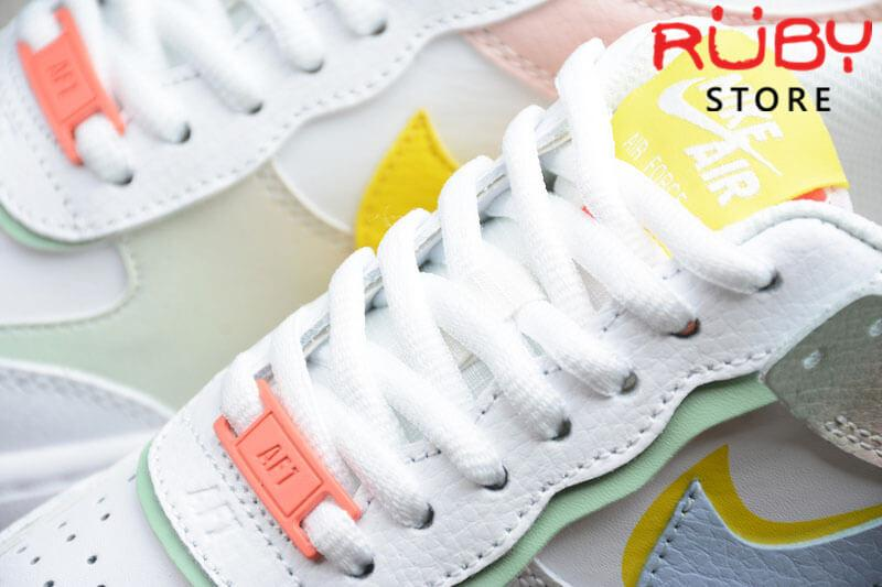 Dây giày Air Force 1 Shadow White Hydrogen