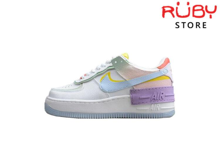 Air Force 1 Shadow White Hydrogen