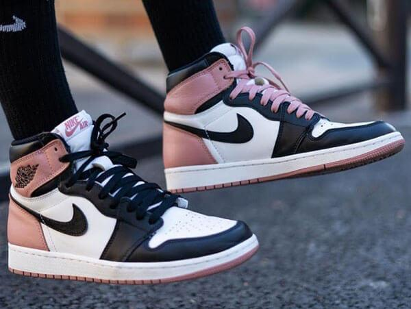 Giày Nike Air Jordan 1 High 'Rust Pink' (2017)