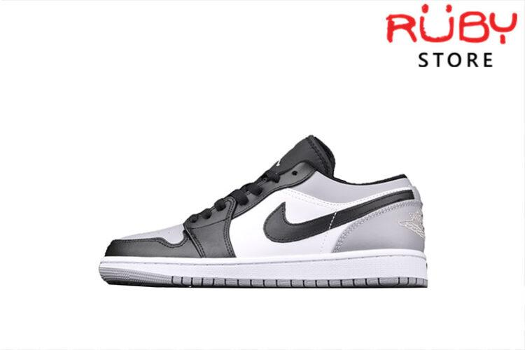 Giày Air Jordan 1 Grey Toe Low Cổ Thấp Xám Đen