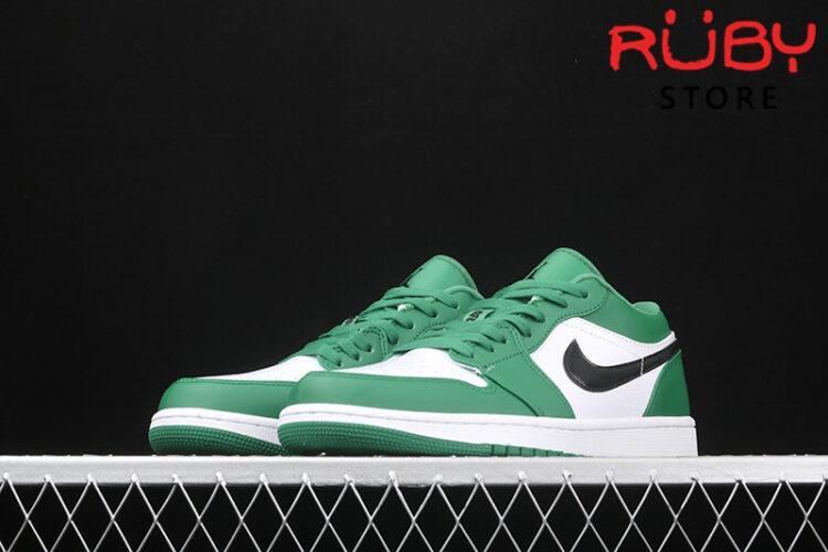 Giày Air Jordan 1 Low cổ thấp xanh lá rep 1:1
