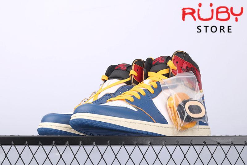 Giày Jordan 1 Retro High Union Los Angeles Blue Toe