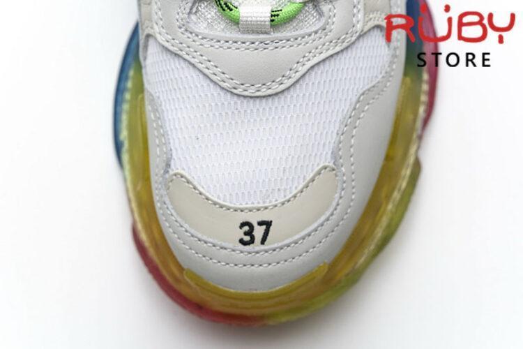 Giày Balenciaga Triple S Clear Sole Multicolor cao cấp