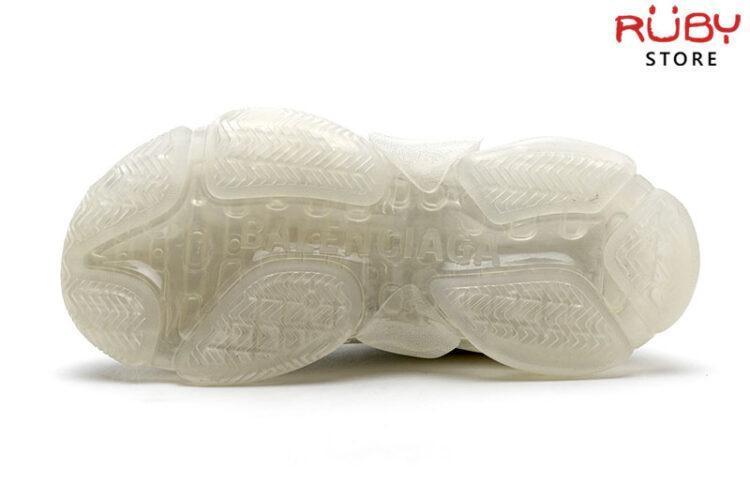 Giày Balenciaga Triple S Clear Sole trắng full cao cấp