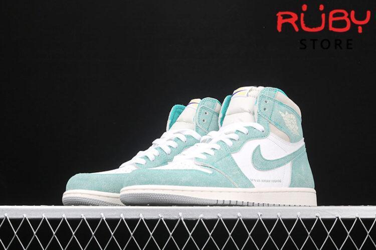 Giày Jordan 1 High trắng xanh lá rep 1:1 giá rẻ
