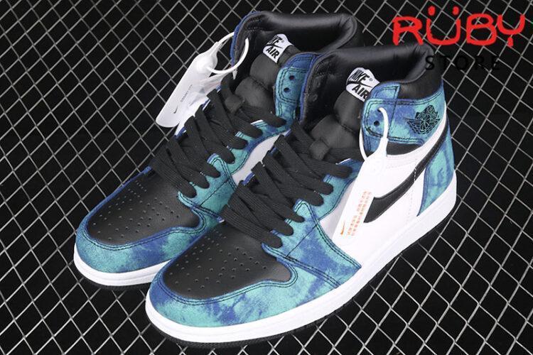 Giày Jordan 1 High trắng xanh navy rep 1:1 giá rẻ