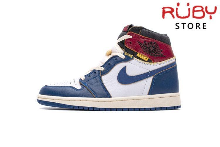 Giày Jordan 1 High xanh đỏ vàng rep 1:1
