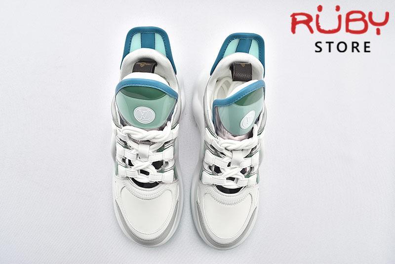 Giày Louis Vuitton Archlight Replica 1:1 (Trắng Xanh Lá)