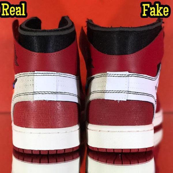 Cách check giày qua gót