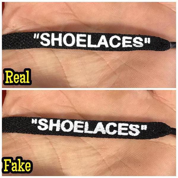 Cách check qua chữ Sholaces trên dây giày