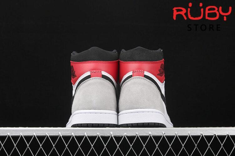 Giày Jordan 1 High Light Smoke Grey xám đỏ rep 1:1