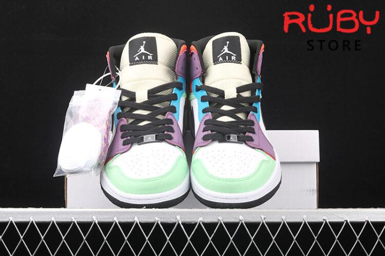 Giày Jordan 1 High SE Multi-Color rep 1:1