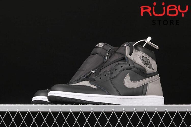 Giày Jordan 1 High Shadow đen xám rep 1:1