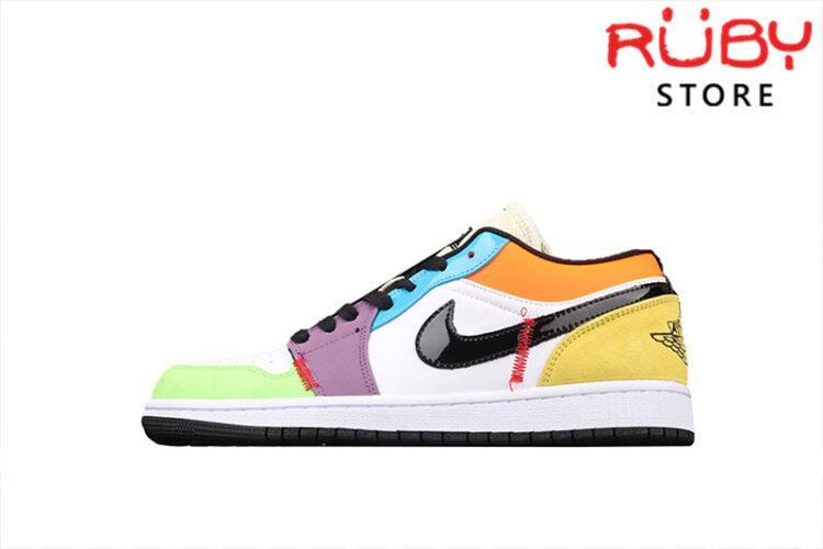 Giày Air Jordan 1 Low SE Multi-Color cổ thấp