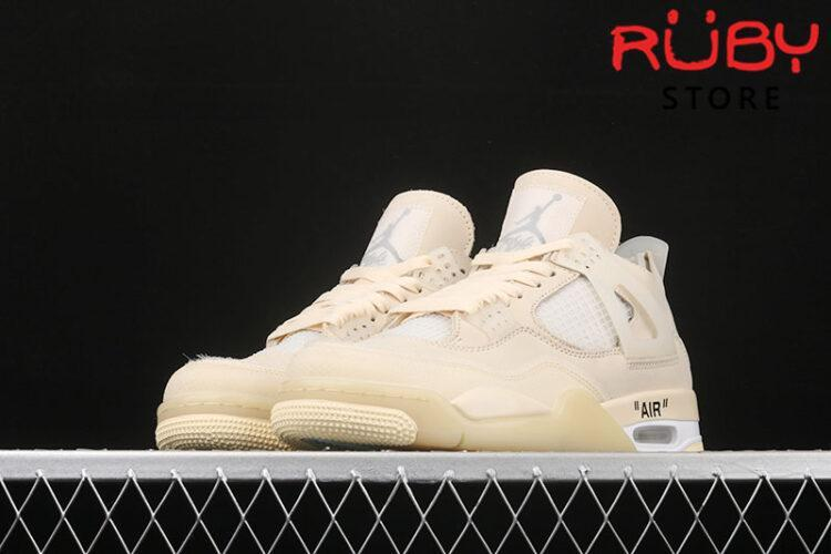 Giày Air Jordan 4 Retro Off-White Sail