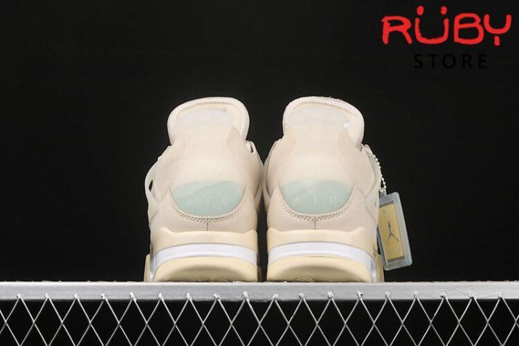 Giày Air Jordan 4 Retro Off-White Sail