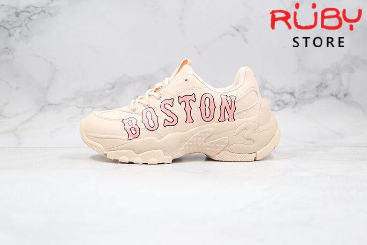 Giày MLB Big Ball Chunky P Boston Red Sox Hồng