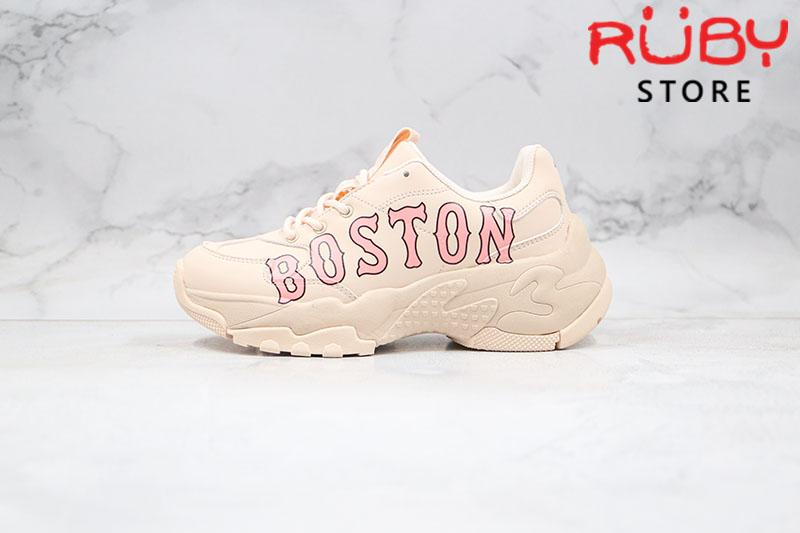 Giày MLB Big Ball Chunky P Boston Red Sox Hồng