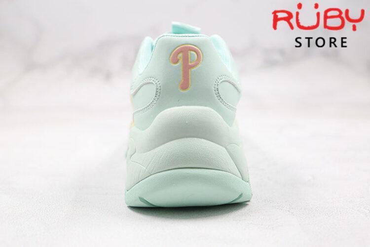 Giày MLB Big Ball Chunky P Philadelphia Phillies xanh mint replica 1:1