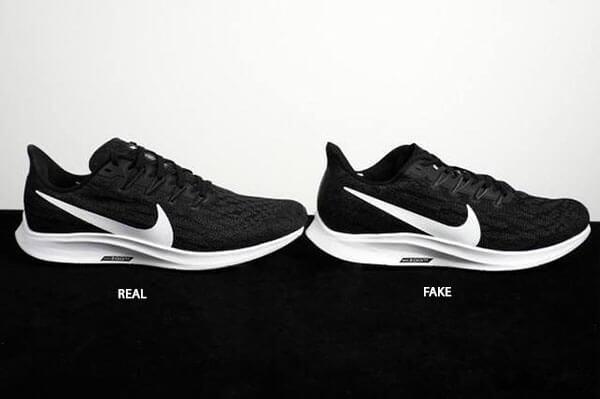 Phân biệt giày Nike Pegasus 36 thật giả qua tổng thể