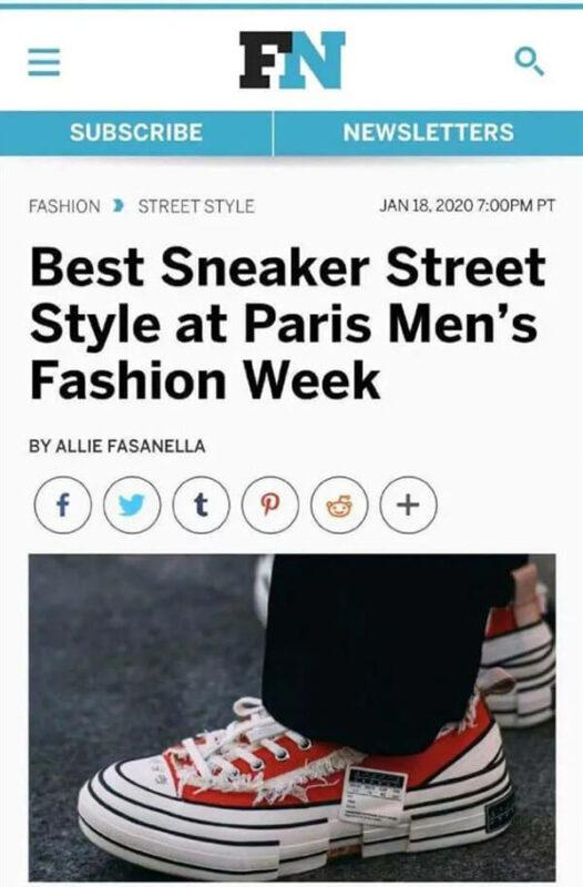 phong cách đường phố tốt nhất trong Tuần lễ thời trang nam Paris 2020