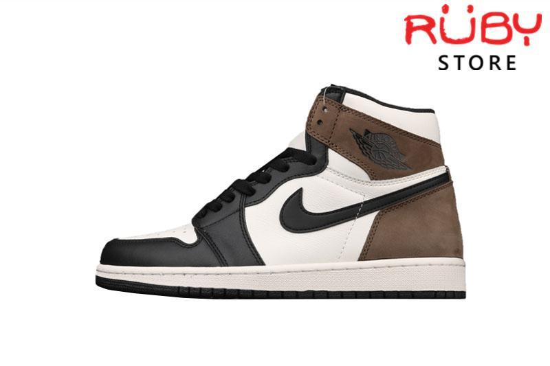 Giày Jordan 1 Retro High Dark Mocha Đen Nâu