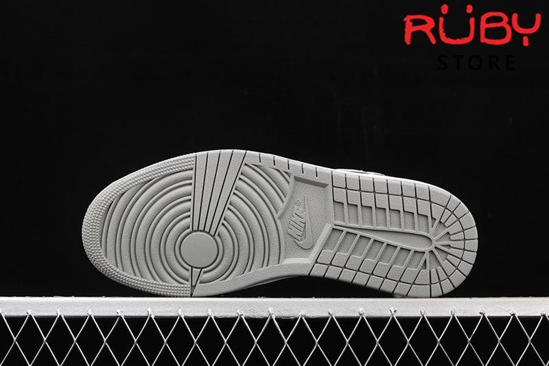 Giày Jordan 1 High Light Smoke Grey xám trắng replica 1:1