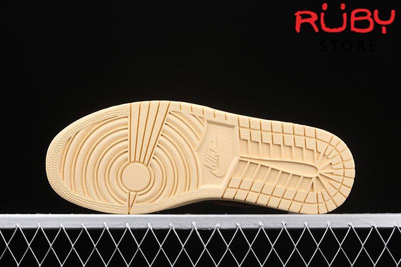 Giày Jordan 1 Retro High Shattered Backboard 3.0 Đen Cam Bóng