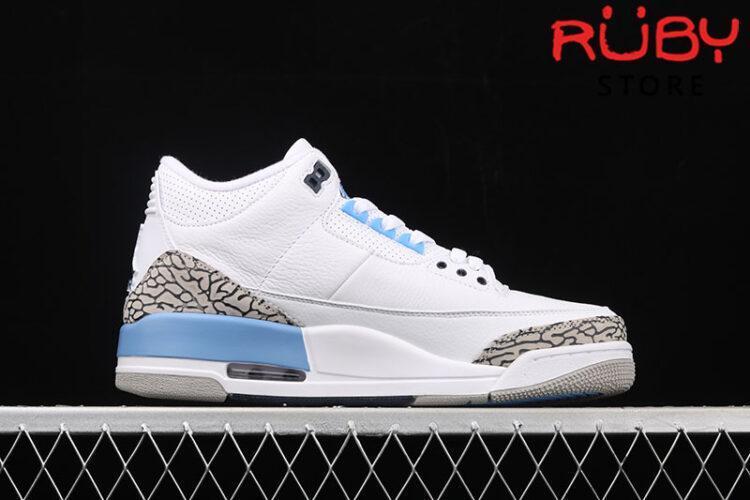Giày Jordan 3 Retro UNC Xanh (2020)