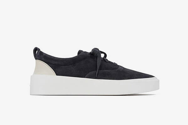 """Fear of God 101 Low Top """"Black Suede"""""""