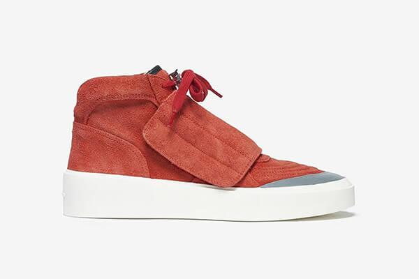 """Fear of God Skate Mid """"Red"""""""