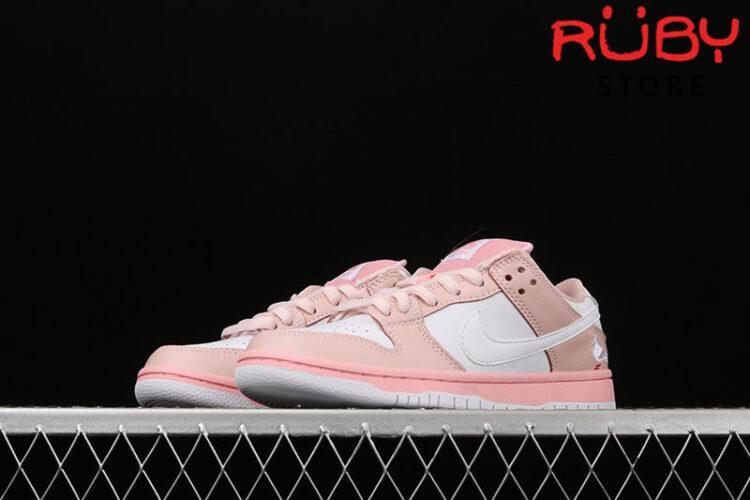 Giày Nike SB Dunk Low Elite Pink White Pigeon