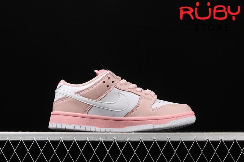 Giày Nike SB Dunk Low Elite Pink White Pigeon