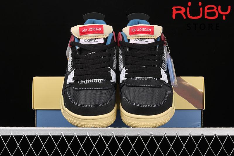 Giày Jordan 4 Retro Union Off Noir