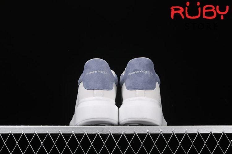 Giày Alexander Mcqueen Gót Xanh Nhạt Replica 1:1