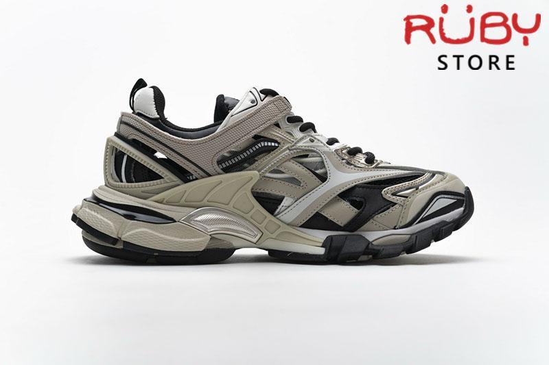 Giày Balenciaga Track 2.0 Xám Trắng Replica 1:1 (Siêu Cấp)