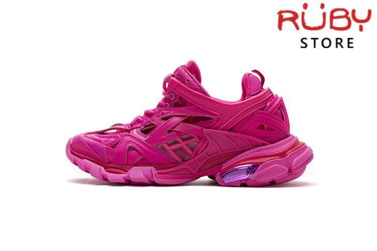 Giày Balenciaga Track 2.0 Hồng Đậm Replica 1:1 (Siêu Cấp)