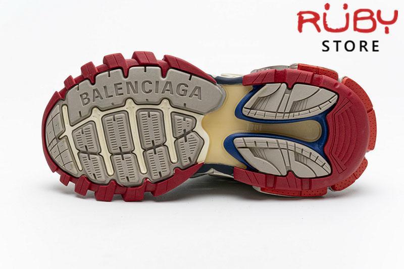Giày Balenciaga Track 2.0 Trắng Xanh Đỏ Replica 1:1 (Siêu Cấp)